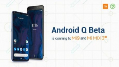 Millet 9, millet MIX 3 has been able to brush Android 10